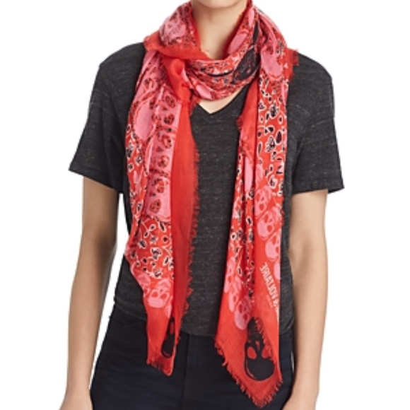 931b3a70054 ZADIG & VOLTAIRE Kerry Garden Scarf NWT